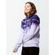 CHAMPION Streak Dye Reverse Weave Purple Womens Hoodie