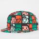 TRUKFIT Trukwood Squares Mens Snapback Hat