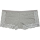 VIVIENE Cotton & Lace Boyshorts