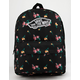 VANS Satin Floral Realm Backpack