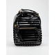 Clear Black Stripe Mini Backpack
