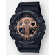 G-SHOCK GA100MMC-1A Black & Rose Gold Watch