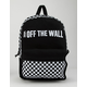 VANS Central Realm Black Backpack