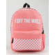VANS Central Realm Strawberry Pink Backpack