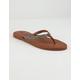 ROXY Janel Black & Tan Womens Sandals