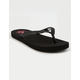 REEF Stargazer Black Girls Sandals