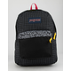 JANSPORT SuperBreak Black Grid Backpack