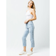 REWASH Charlie Womens Crop Ripped Jeans