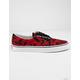VANS Tie Dye Era Tango Red & True White Shoes