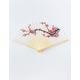WENDYLOU ACCESSORIES White Cherry Blossom Fan