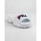FILA Disruptor Bold White Womens Sandals