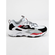 FILA Ray Tracer Black & White Womens Shoes