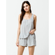 SPLENDID Lounge Heather Gray Womens Shorts