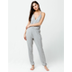 SPLENDID Lounge Heather Gray Womens Jumpsuit