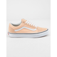 VANS Old Skool Bleached Apricot & True White Womens Shoes
