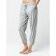 SPLENDID Lounge Heather Gray Womens Crop Jogger Pants