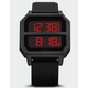 ADIDAS Archive_R2 All Black & Red Watch