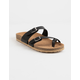 SODA Buckle Straps Black Womens Sandals