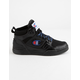 CHAMPION 3 On 3 100 Black Boys Shoes