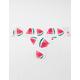 FULL TILT Watermelon Laser Cut Thong