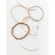 FULL TILT 5 Piece Bead & Wood Bracelets