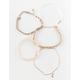 FULL TILT 5 Pack Moon & Bar Bracelets