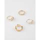 FULL TILT 5 Piece Cutout & Stone Rings