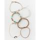 FULL TILT 6 Pack Moon & Wood Bracelets