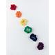 FULL TILT 6 Pack Rainbow Scrunchies