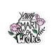 STICKIE BANDITS Young Smart & Woke Sticker