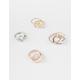FULL TILT 11 Piece Heart & Triangle Rings