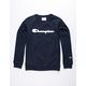 CHAMPION Premier Navy Boys Sweatshirt