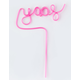 Yaas Party Straw