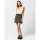 SKY AND SPARROW Daisy Mini Skirt