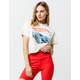 MIGHTY FINE Hot Wheels Womens Crop Tee