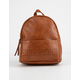 Perforated Mini Backpack