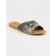 QUPID Asymmetrical Snake Womens Sandals