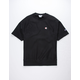 CHAMPION Reverse Weave Black Mens Sweatshirt
