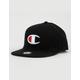 CHAMPION BB Big C Black Mens Snapback Hat