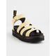 DR. MARTENS Blaire Yellow Womens Flatform Sandals