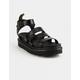 DR. MARTENS Blaire Brando Womens Platform Sandals