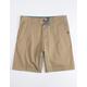 VISSLA No See Ums Khaki Mens Shorts