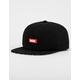 DGK Illusion Black Mens Strapback Hat