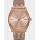 NIXON Time Teller Milanese All Rose Gold Watch