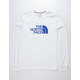 THE NORTH FACE Half Dome White & Blue Mens T-Shirt