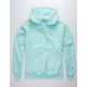 CHAMPION Reverse Weave Waterfall Green Mens Hoodie
