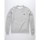 CHAMPION Reverse Weave Oversize Gray Mens Sweatshirt