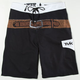 TAVIK John Wayne Shooter Mens Boardshorts - Black