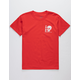 NEON RIOT Dark Skull Star Boys T-Shirt