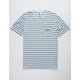 VISSLA Graves II Light Blue Mens Pocket Tee